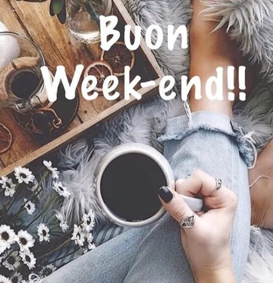 foto di buon weekend