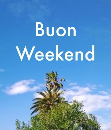 buon weekend blingee