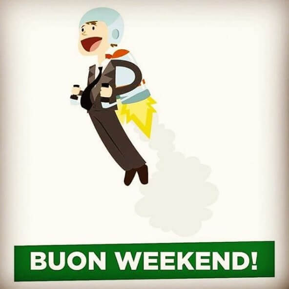 video di buon weekend
