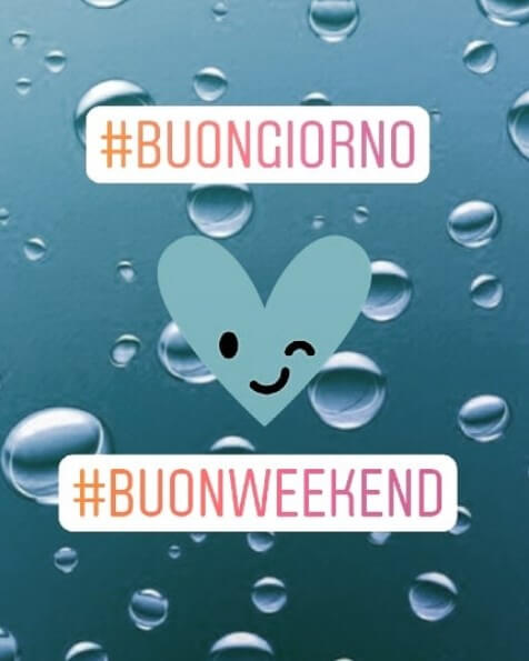buon weekend foto