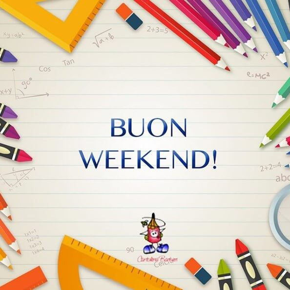 cartoline buon weekend